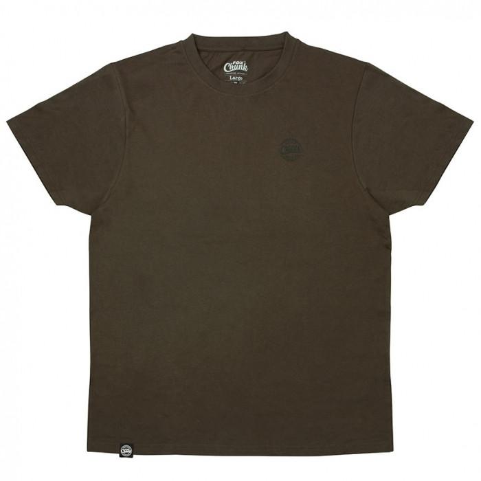 Футболка Fox Chunk Dark Khaki Classic T shirt XXL