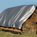 Тент тарпаулин Польша 4х6м,100г/м2 мощный с кольцами, фото 4