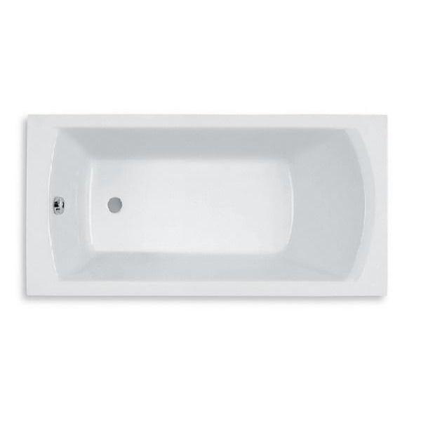 ROCA LINEA ванна 150*70см прямоугольная, с ножками в комплекте, объем 165л
