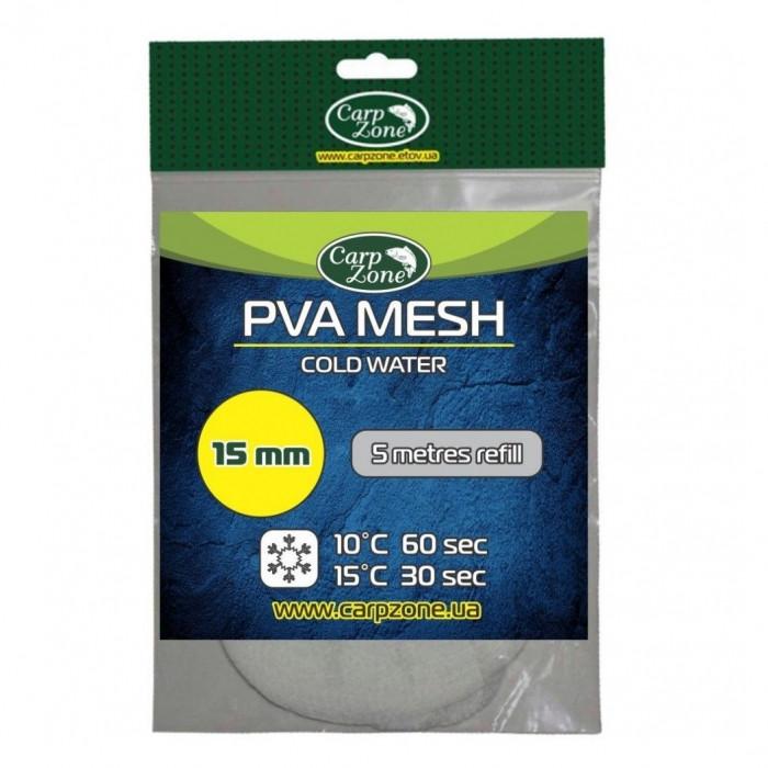 Запасная ПВА сетка быстрорастворимая CarpZone PVA Mesh Cold Water, 5м d 0.15мм