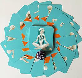 """""""Йога-Трансформація"""" метафоричні карти, тілесна терапія з кубиком (Олександра Чередниченка)"""