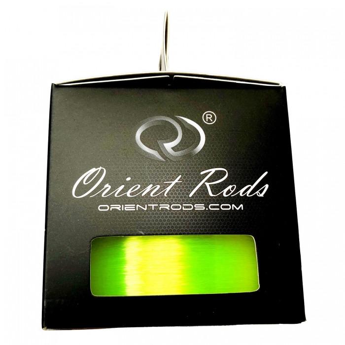 Леска Orient Rods Fluo Yellow Link Line, 800m 18Lb/8,17kg/0,34mm