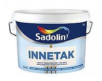 Краска замедленного высыхания SADOLIN INNETAK для потолков белый (база ВW) 5л
