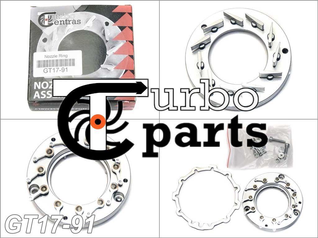 GT17-91 Геометрия турбины BMW 320d, X3 2.0d - 717478-0001, 717478-0002, 717478-0003