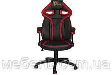 Компьютерное детское кресло Barsky SD-08 Sportdrive Game Red, черный / красный, фото 2
