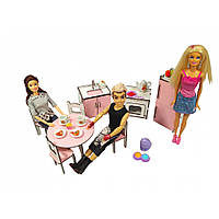 Набор мебели «Кухня» Кукольная мебель для кукольных домиков Барби, Monster High, Winx, LOL