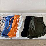 Женские трикотажные шорты с высокой посадкой, фото 2