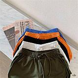 Женские трикотажные шорты с высокой посадкой, фото 3