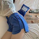 Женские трикотажные шорты с высокой посадкой, фото 4