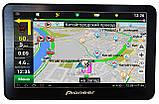 "Мощный GPS навигатор Pioneer 7"" PI718. 8Gb / 800MHz / 256Mb / IGO + Navitel + Ситигид, фото 5"