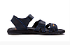 Мужские кожаные сандалии Nike ACG blue синие