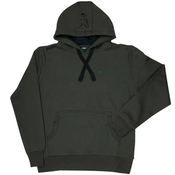 Толстовка c капюшоном Fox Green / black hoodie XXL