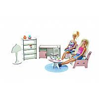 Набор мебели «Кабинет». Кукольная мебель для кукольных домиков Барби, Monster High, Winx, LOL