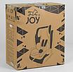Чёрно-синее универсальное детское автокресло JOY 43098, система ISOFIX!!!, фото 4