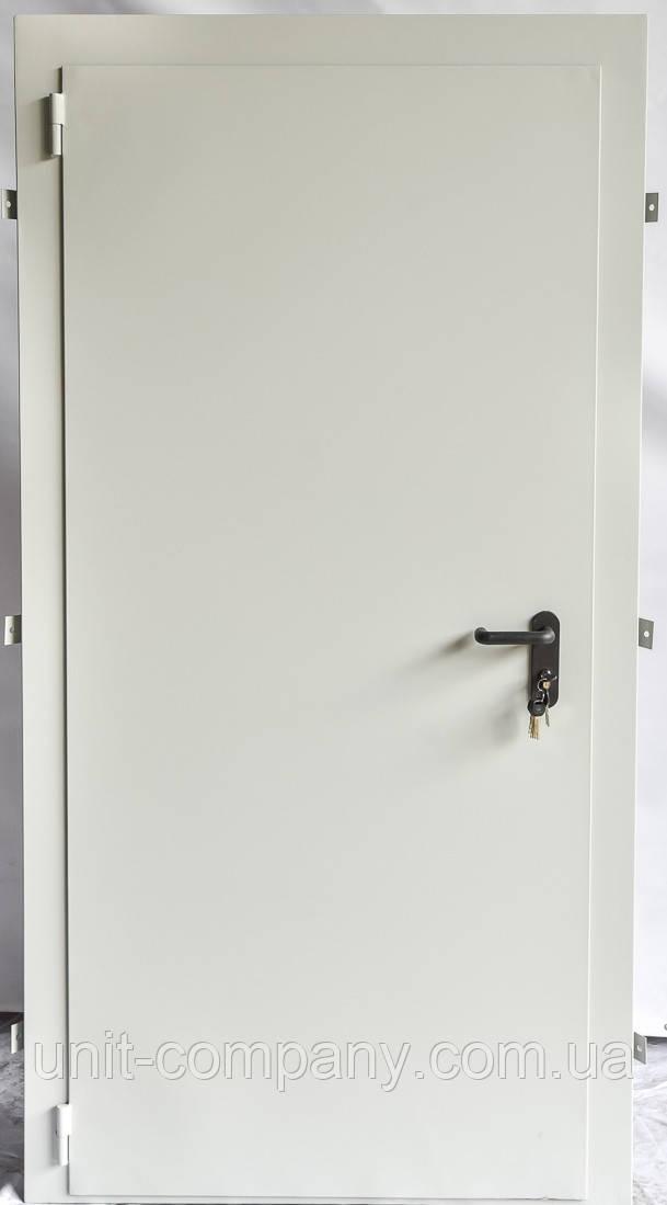Дверь утепленная однопольная