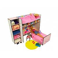 Спальный уголок. Кукольная мебель для кукольных домиков Барби, Monster High, Winx, LOL