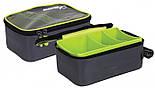 Жесткий кейс для аксессуаров с прозрачногй крышкой Matrix Pro accessory hardcase bag clear top, фото 2