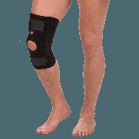 Бандаж на коленный сустав со спиральными ребрами жесткости Т-8512 (8505)