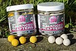 Бойлы насадочные критически сбалансированные Balanced Wafters Peaches & Cream, 1 бан 250ml, фото 3