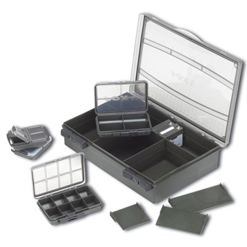 Коробка средняя одинарная (укомплектованная) Fox F-Box Deluxe Medium Single, набор