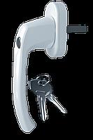 Ручка оконная Astex для металлопластикового окна WH 039  белый (РАЛ 9016)