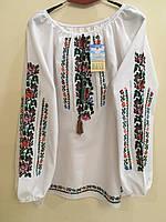 Вишита сорочка жіноча ручної роботи розмір 52-54, фото 1