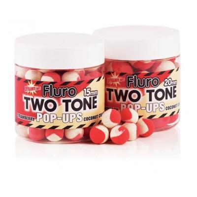 Поп-ап Dynamite Baits Two Tone Fluro Strawberry & coconut cream, 1бан