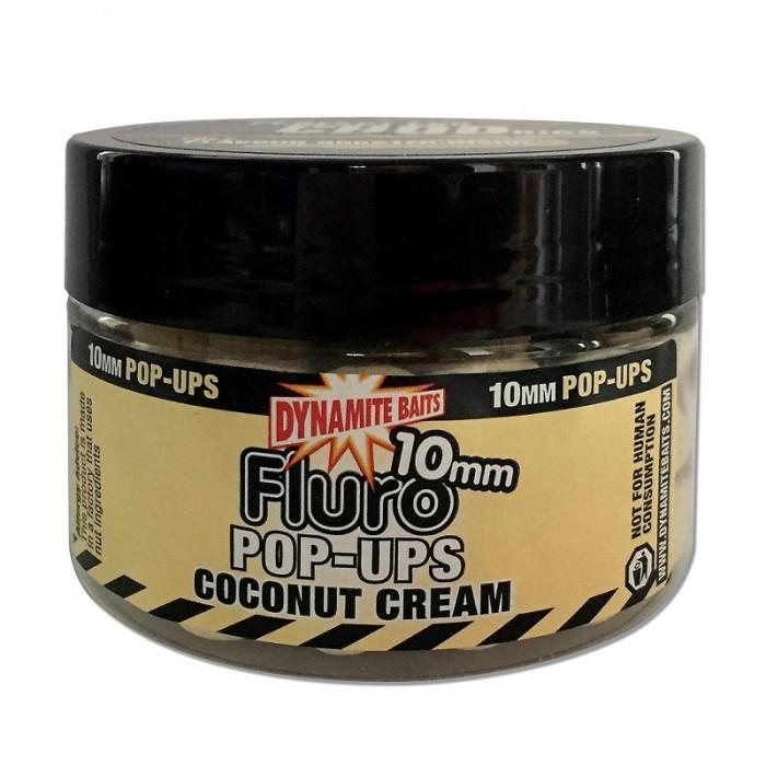 Поп-ап Dynamite Baits Coconut Cream Fluro Pop-Up, 1бан