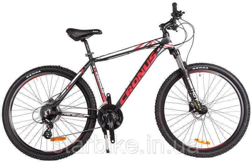 """Cronus Велосипед Cronus Future Рама 27.5""""19.5"""" Чёрный-Красный-Белый"""