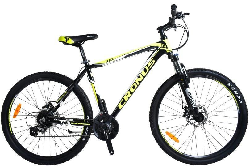 "Cronus Велосипед Cronus Holts (Baturo) 3.0 27,5""19""Чёрный-Жёлтый-Серый"