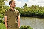 Поло с воротником Korda Polo Shirt Olive, фото 3