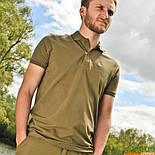 Поло с воротником Korda Polo Shirt Olive, фото 4