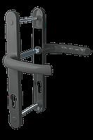 Дверной гарнитур универсальный Astex HERMES DHS 85/11 графит (РАЛ 7024)