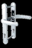 Дверной гарнитур универсальный Astex HERMES DHS 92/11 белый (РАЛ 9016)