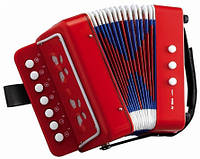 Детская гармошка Shantou Huada Toys 6429 Красный, КОД: 1319692