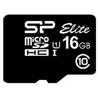 Карта памяти Silicon Power 16GB microSDHC class 10 UHS-I Elite (SP016GBSTHBU1V10)