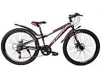 """TitanBike Велосипед Discovery 26""""11"""" Чёрный-Белый-Красный"""