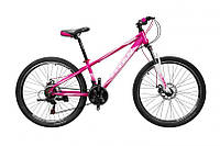 "TitanBike Велосипед Titan Calypso 26""13"" Розовый-Белый"