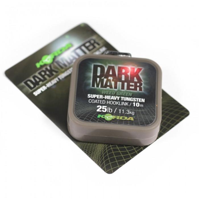 Поводковый материал в оболочке Korda Dark Matter Tungsten Coated Braid, 10м