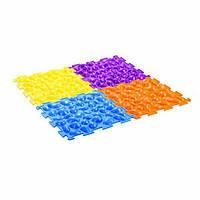 Коврик-массажер «Цветные камешки» М-516, Тривес
