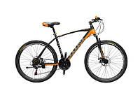 "TitanBike Велосипед Titan Porsche 26""19"" Чёрный-Оранжевый-Серый"