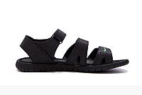 Чоловічі шкіряні сандалі Nike ACG black чорні