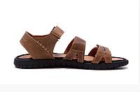 Чоловічі шкіряні сандалі Nike ACG Olive