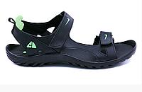 Чоловічі шкіряні сандалі Nike NS green зелені