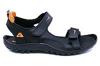 Чоловічі шкіряні сандалі Nike NS orange