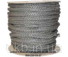 Шнур керамический, огнестойкий 6 мм / Шнур керамічний вогнетревкий 6 мм
