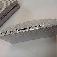 Набор пилочек для ногтей Kodi Professional 180/240 (Half Grey) 25 шт