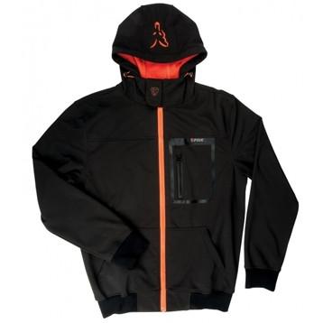 Куртка Fox Black / Orange Shofshell Hoodie