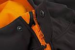 Куртка Fox Black / Orange Shofshell Hoodie, фото 7
