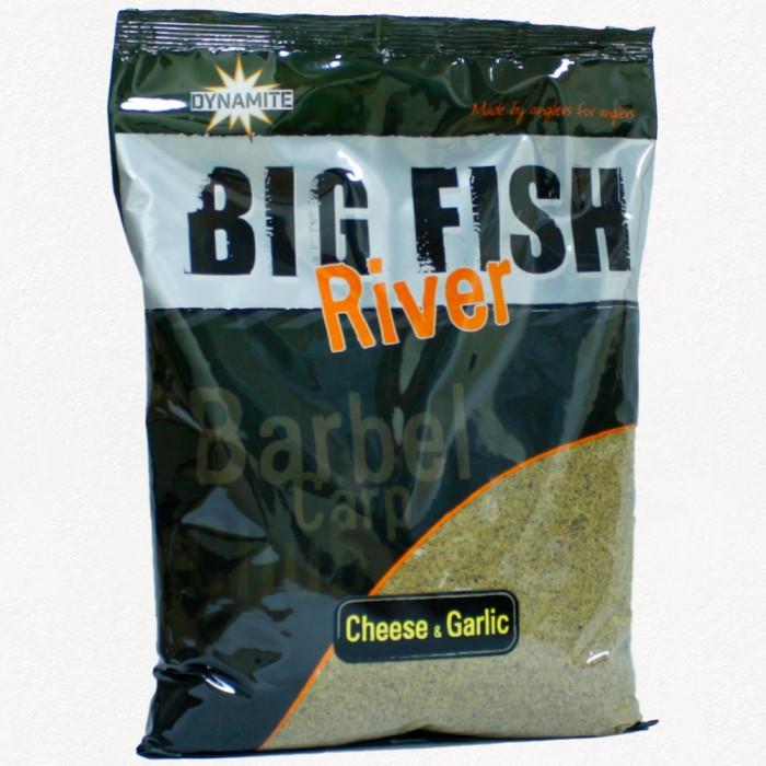 Прикормка Dynamite Baits Big Fish River Cheese and Garlic Method Mix 1.8kg, 1.8кг